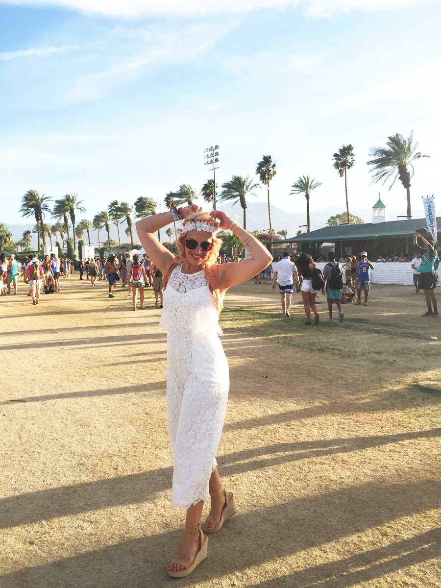 Coachella day 1: All in white, cowboys and music!