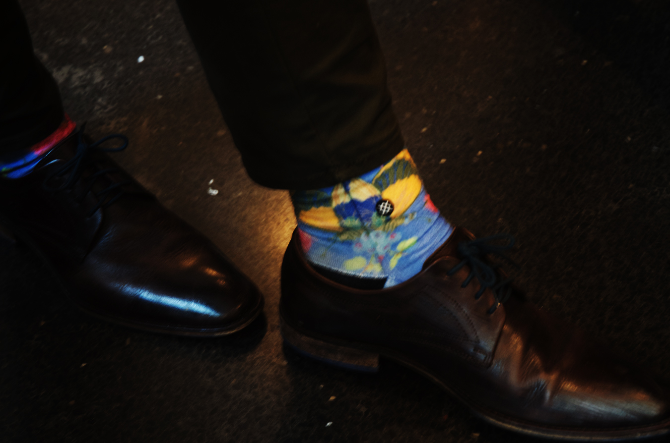 What's behind these socks?