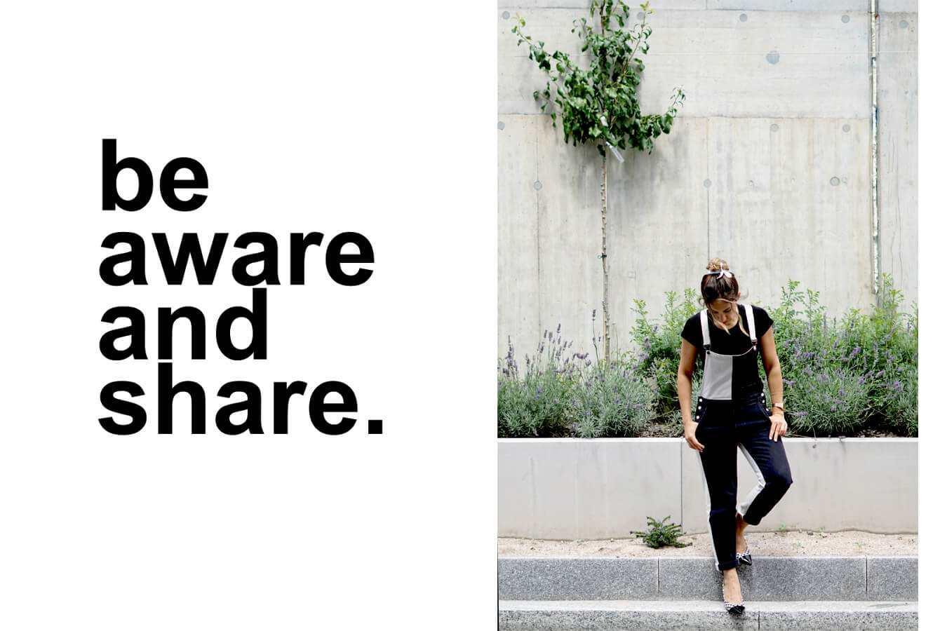 be aware and share www.jesca.li