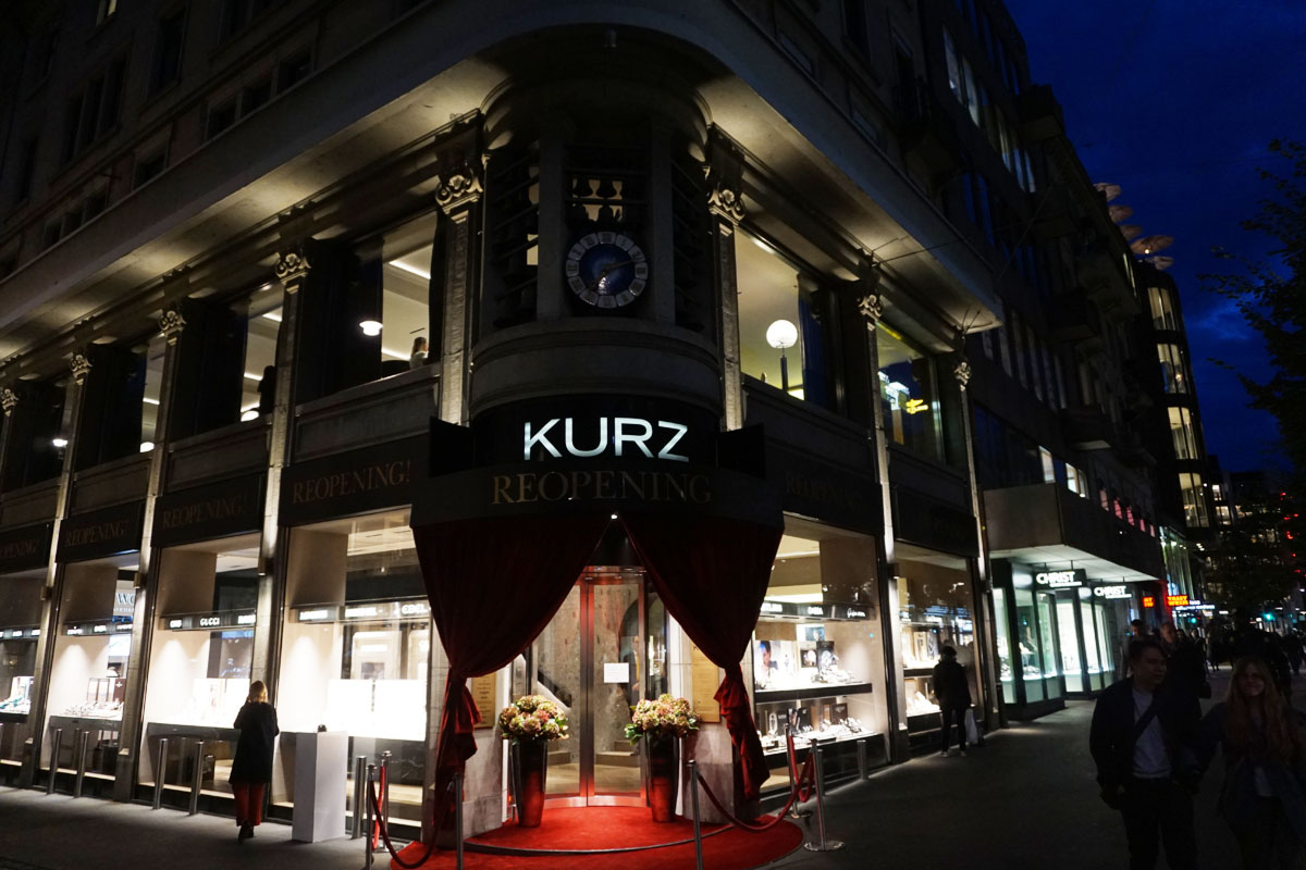 Reopening of KURZ Boutique
