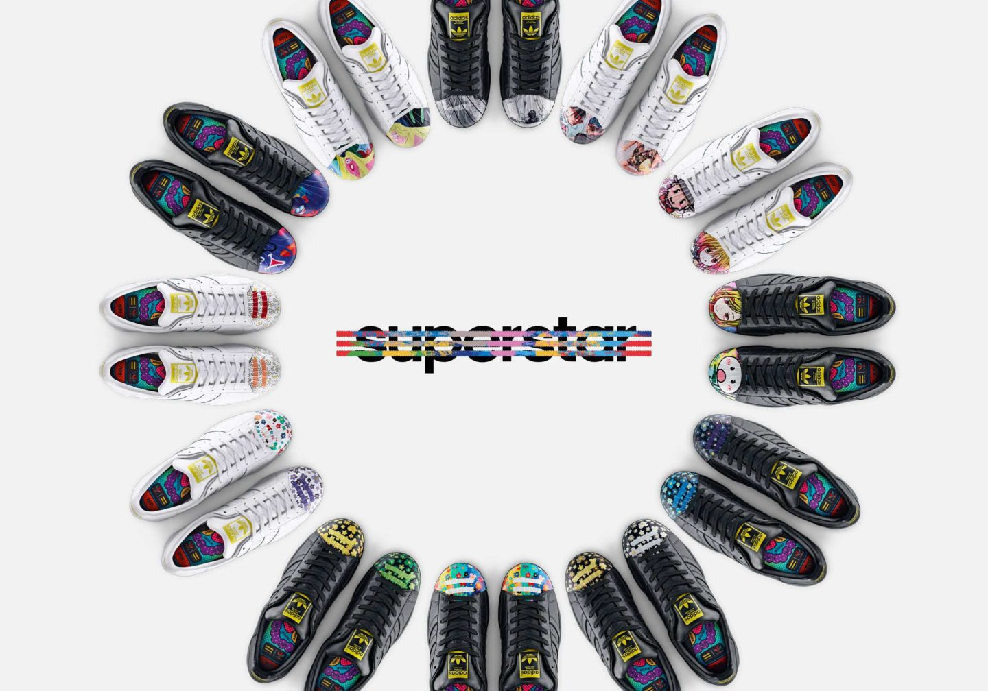 adidas Supershell – Artwork Collection