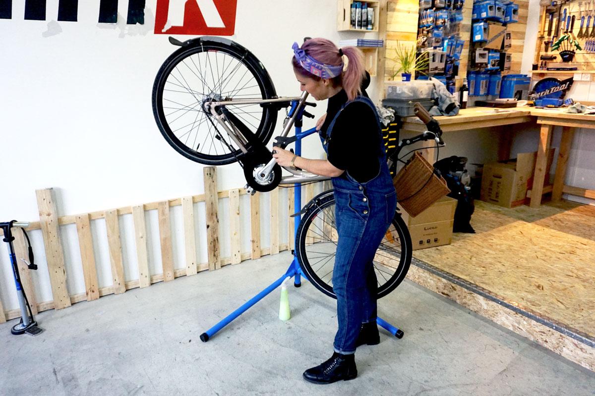 Wenn das Fahrrad in die Klinik muss