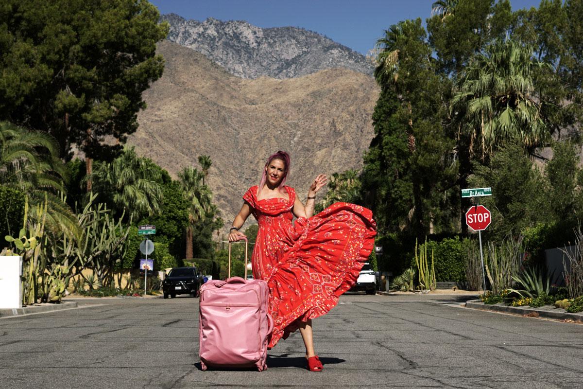 Das Gepäckstück für Fashionistas