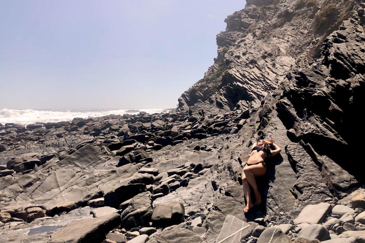 Das perfekte Strandbild