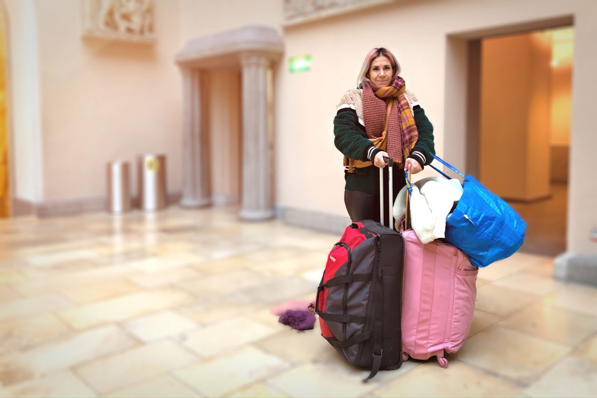 Kleidersammeln für Flüchtlinge