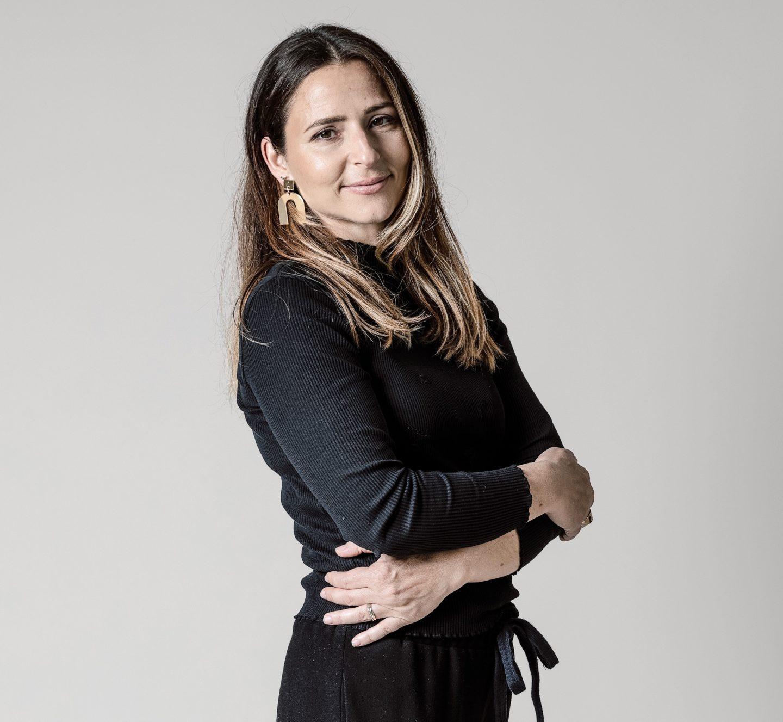 Portrait von Herausgeberin Caterina Meyrat