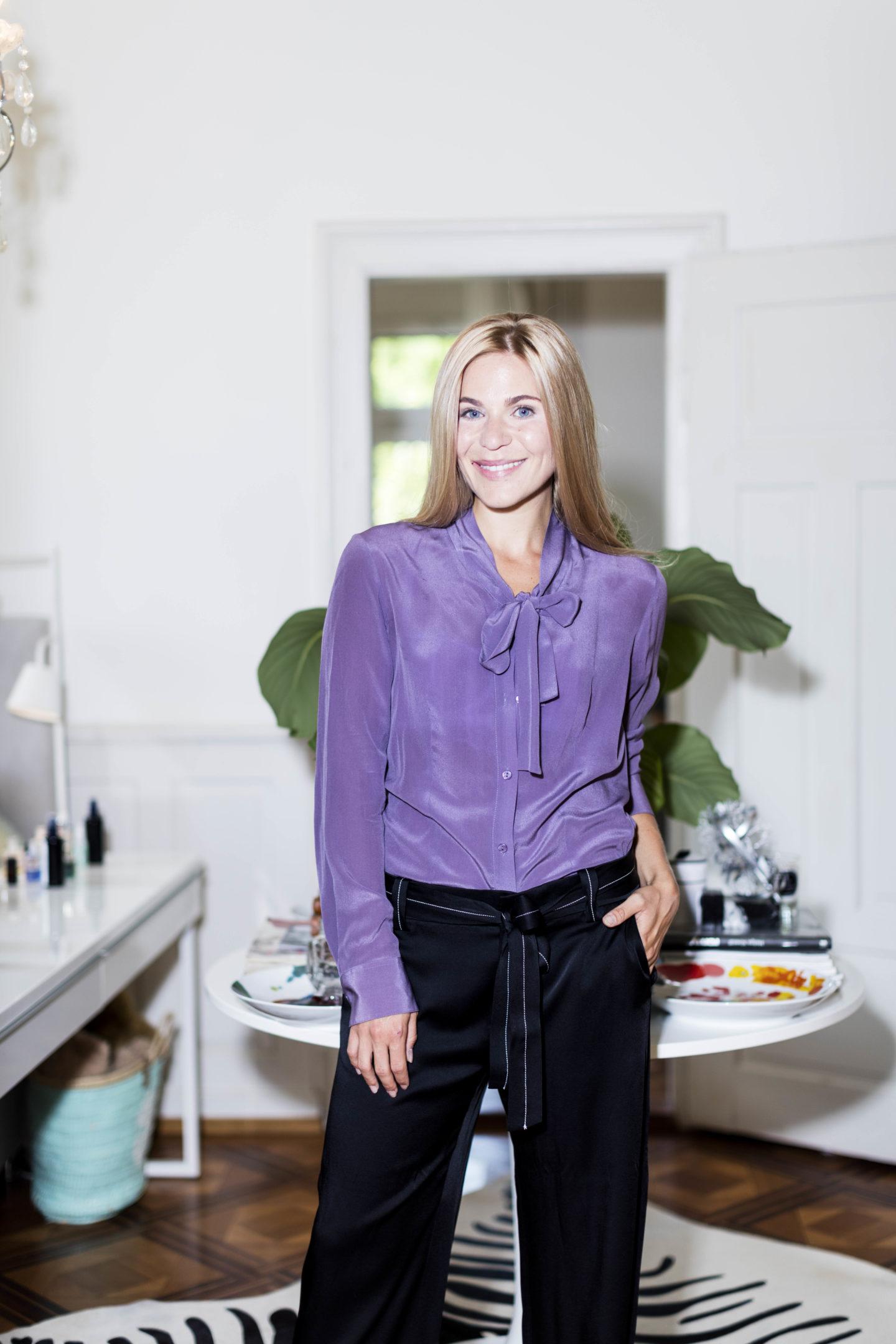 Managerin Sarah Andrina Schütz