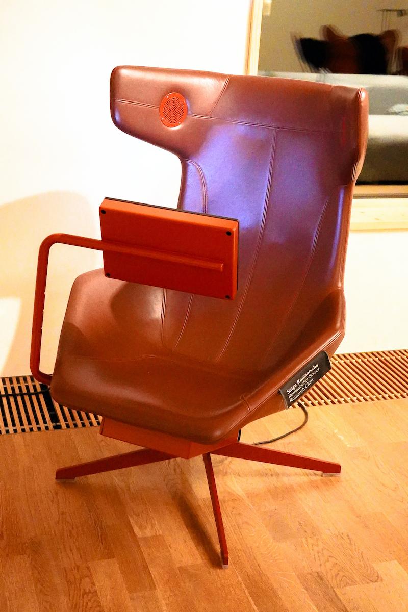 Romanischer Sessel im WellnessHostel 3000